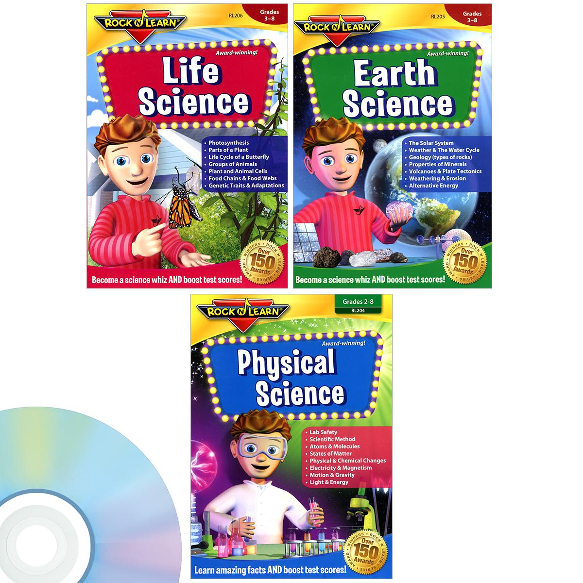 Science DVD 3-Pack