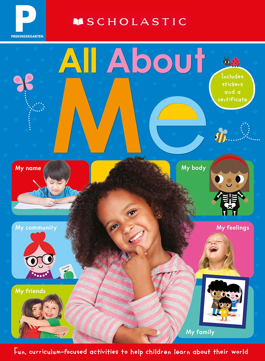 Scholastic Early Learners: Prekindergarten: All About Me Workbook