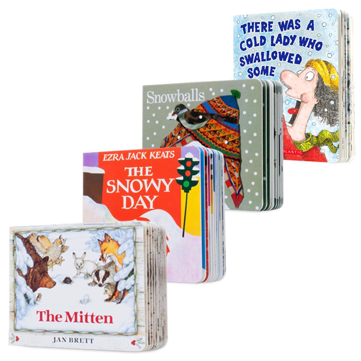 Snowy Day Fun Board Book Pack