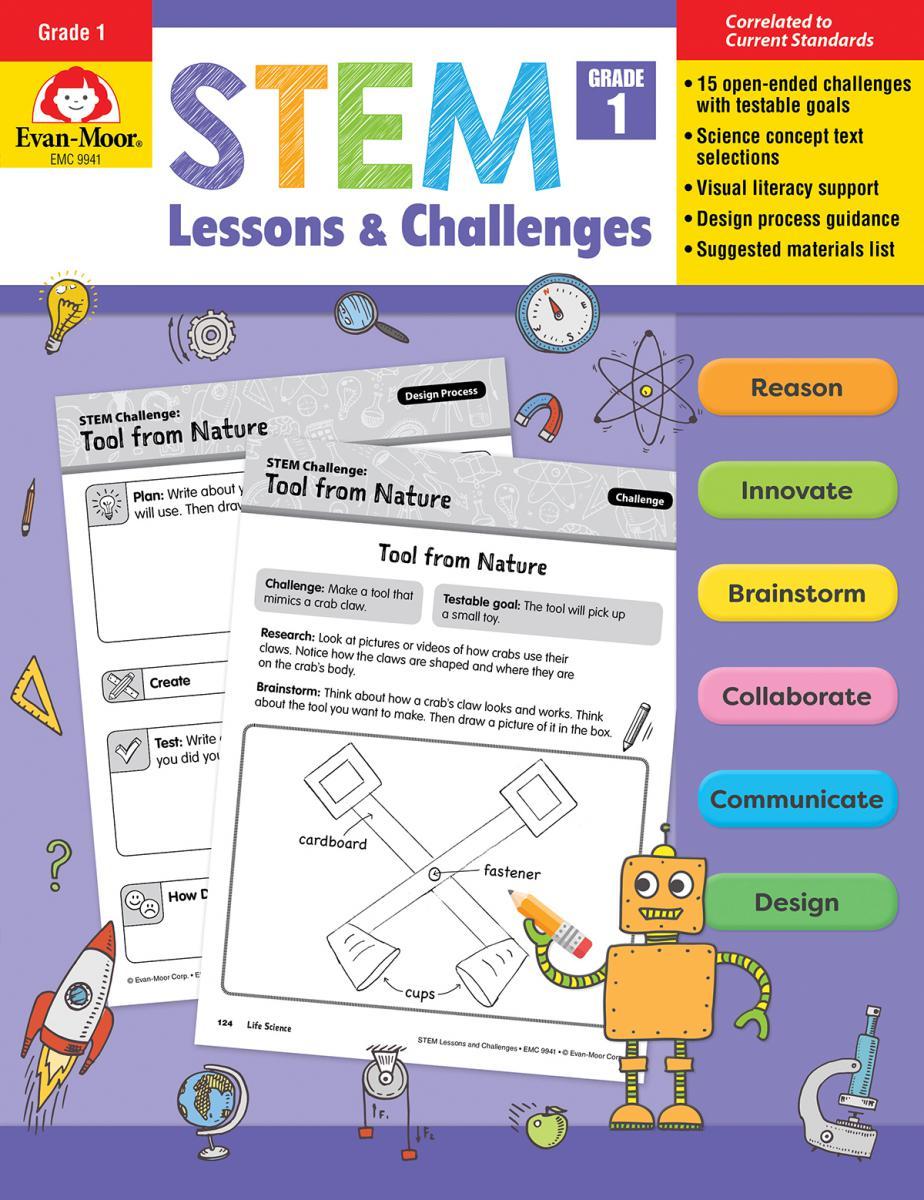 STEM Lessons & Challenges: Gr. 1