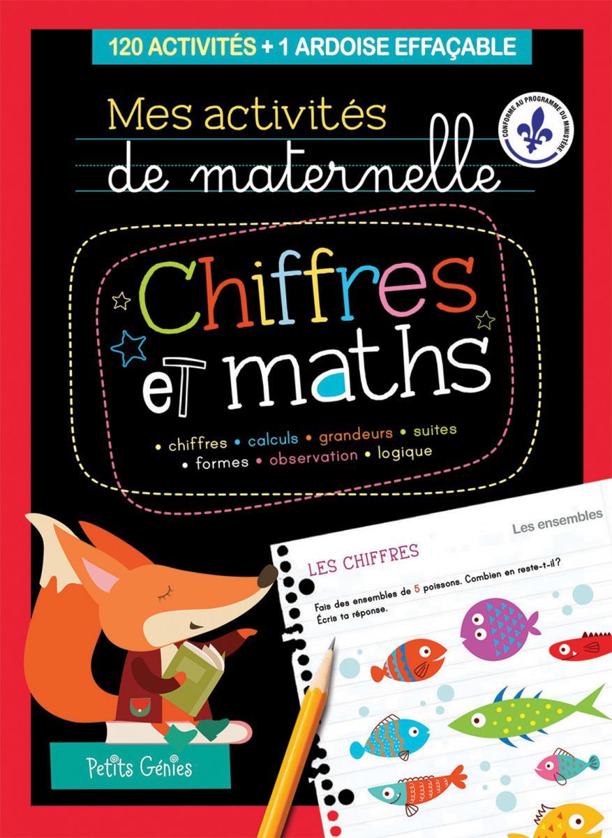 Mes activités de maternelle : Chiffres et maths