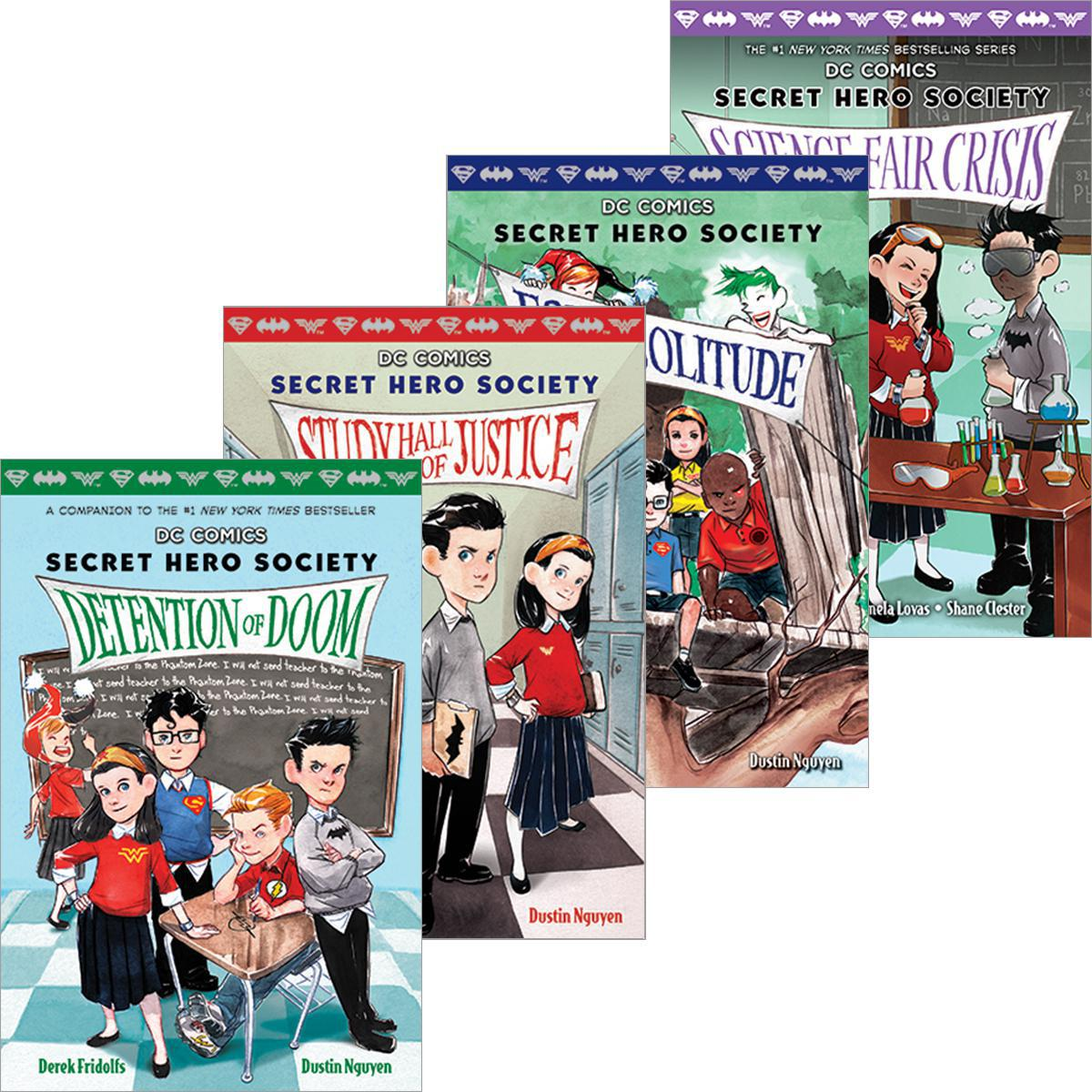 Secret Hero Society #1 - #5 Pack