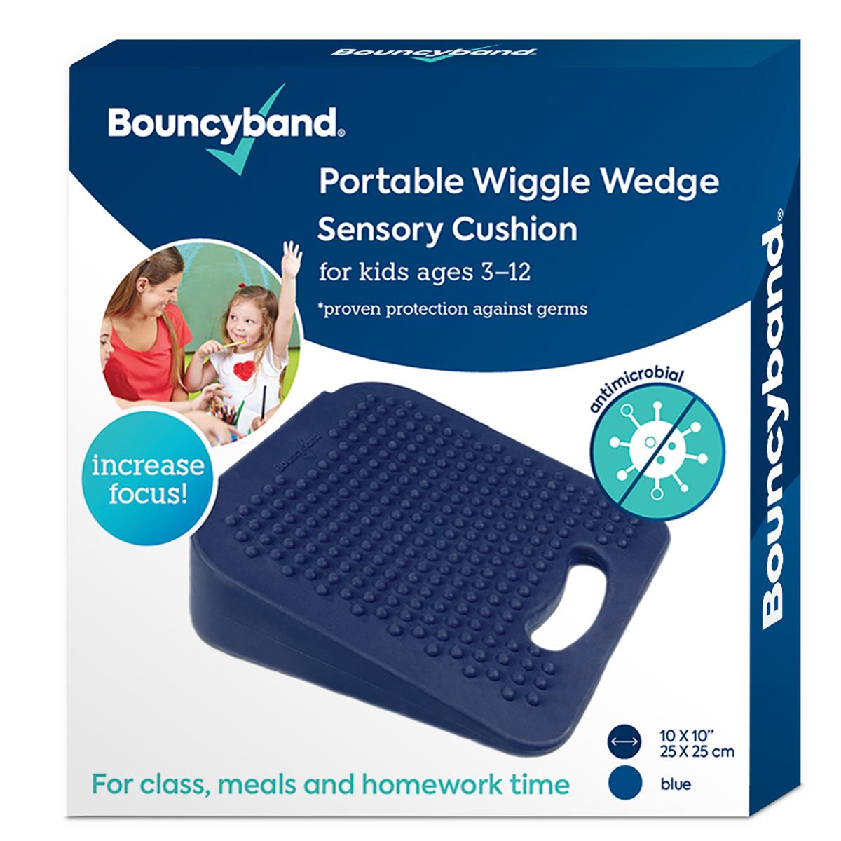 Antimicrobial Wedge Wiggle Sensory Cushion