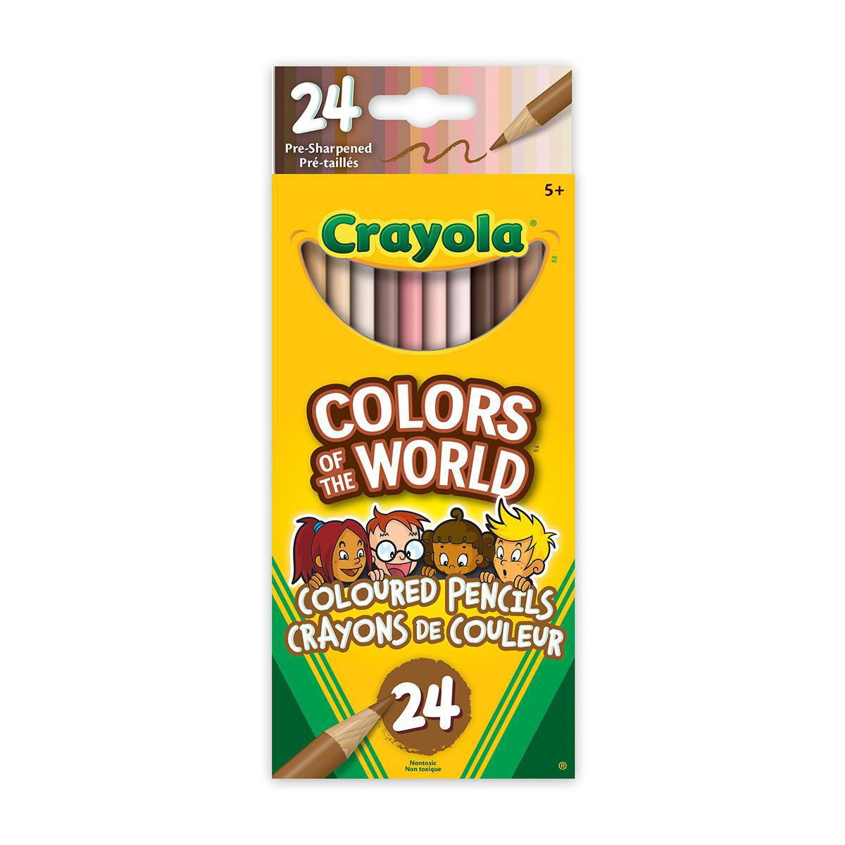 Crayola Colors of the World Colored Pencils 24-pack
