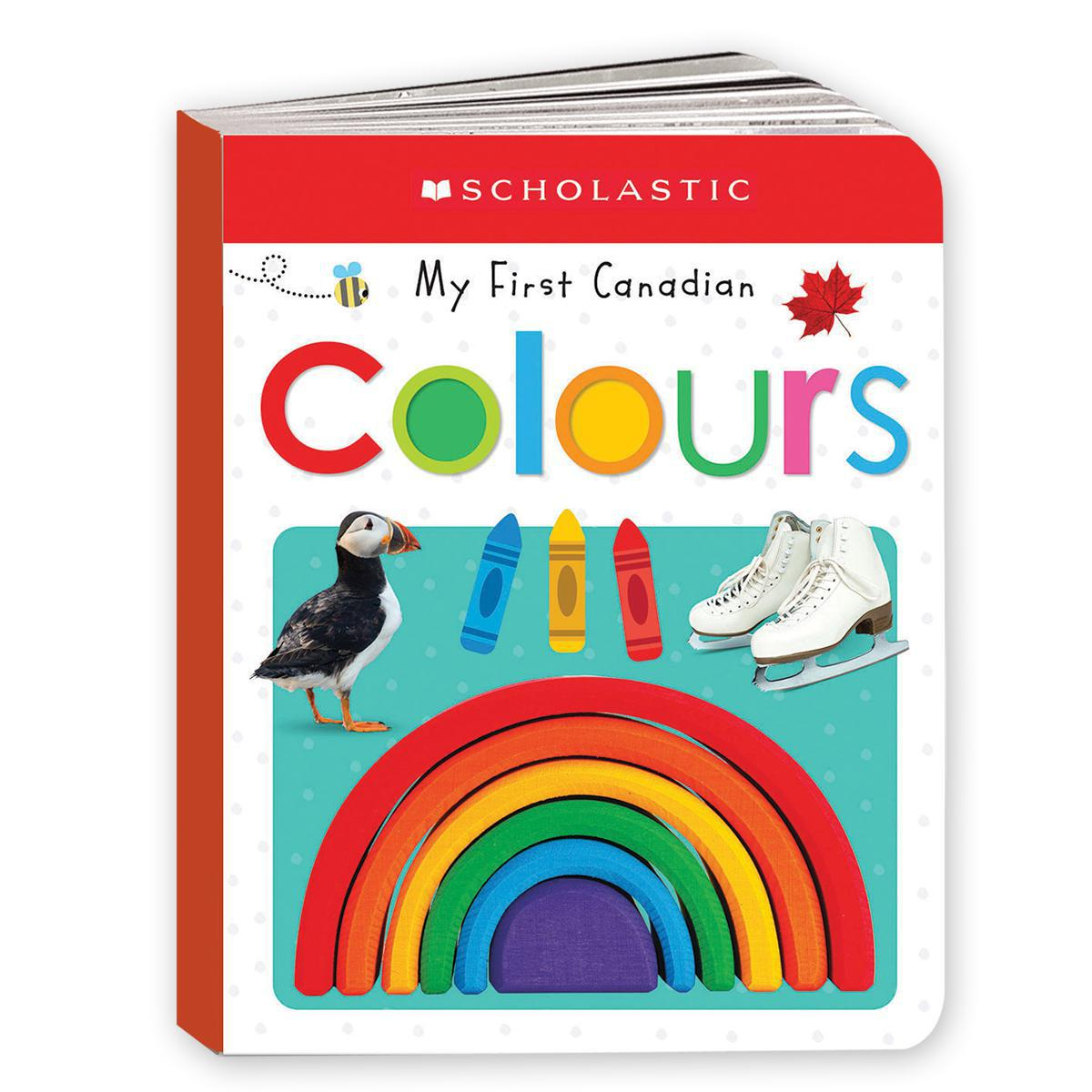 Scholastic Early Learners: My First Canadian Colours