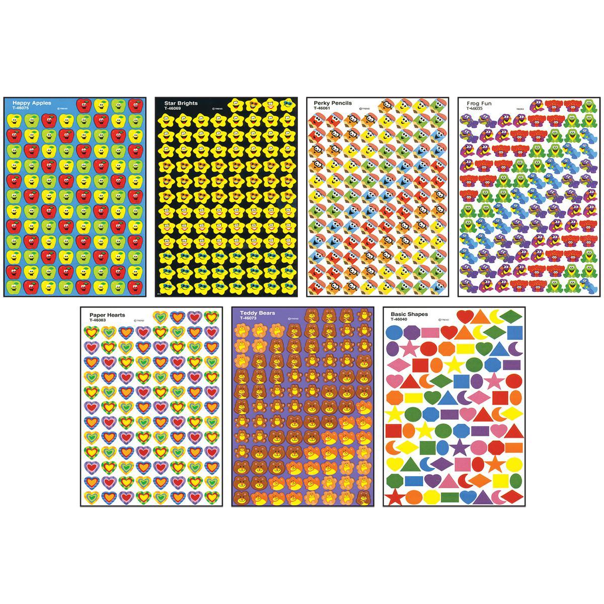 Jumbo Sticker SuperSpots® & SuperShapes® Assortment Pack