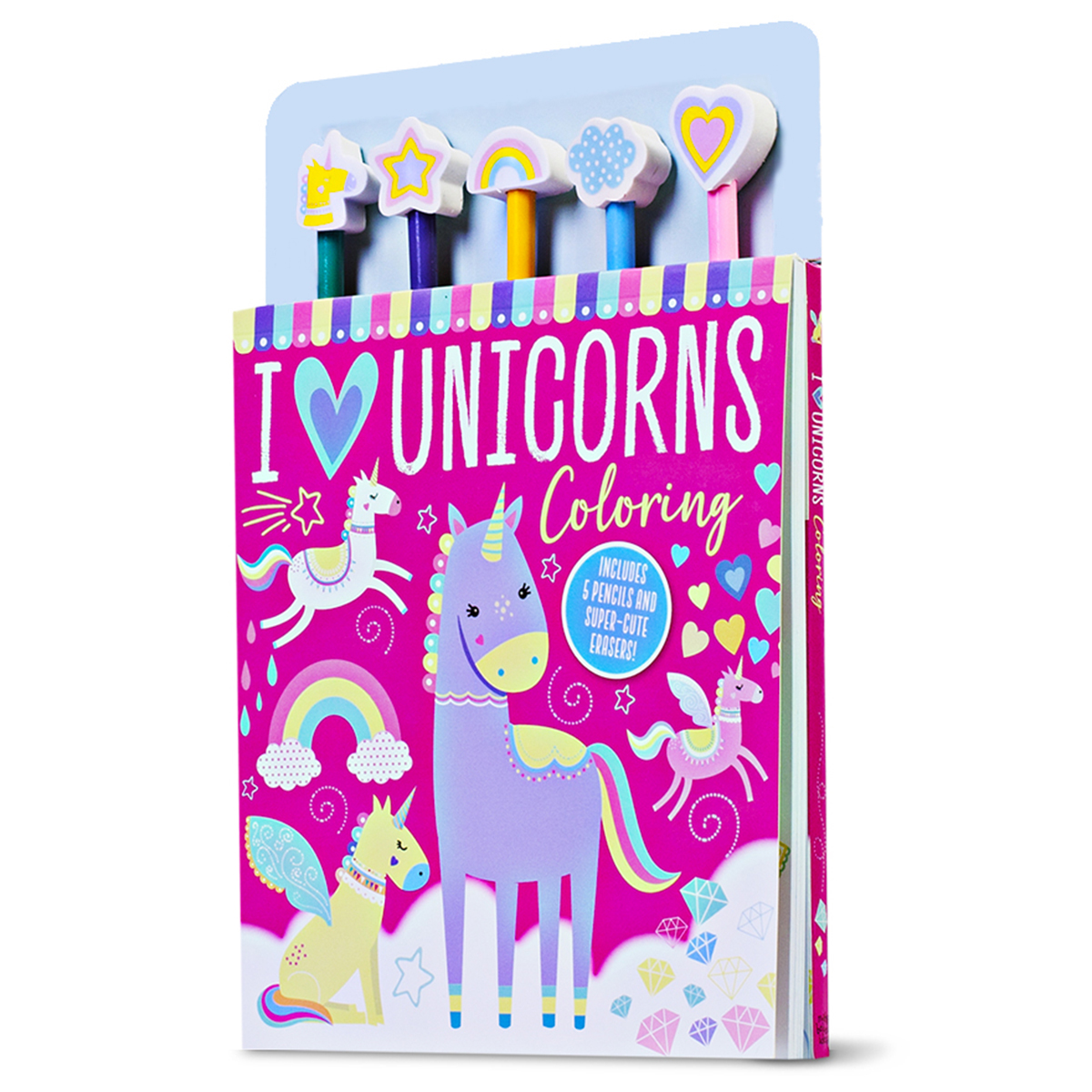 I Love Unicorns Coloring Kit