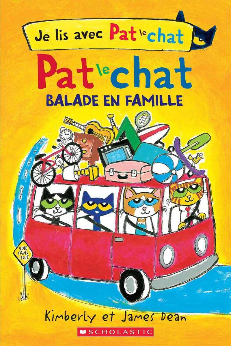 Je lis avec Pat le chat : Balade en famille