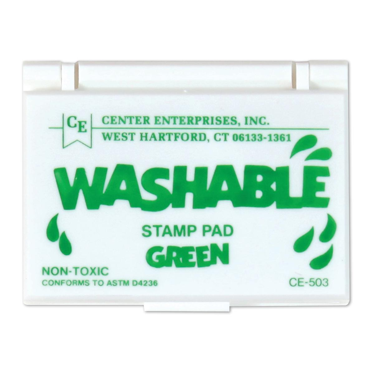 Washable Stamp Pads: Green