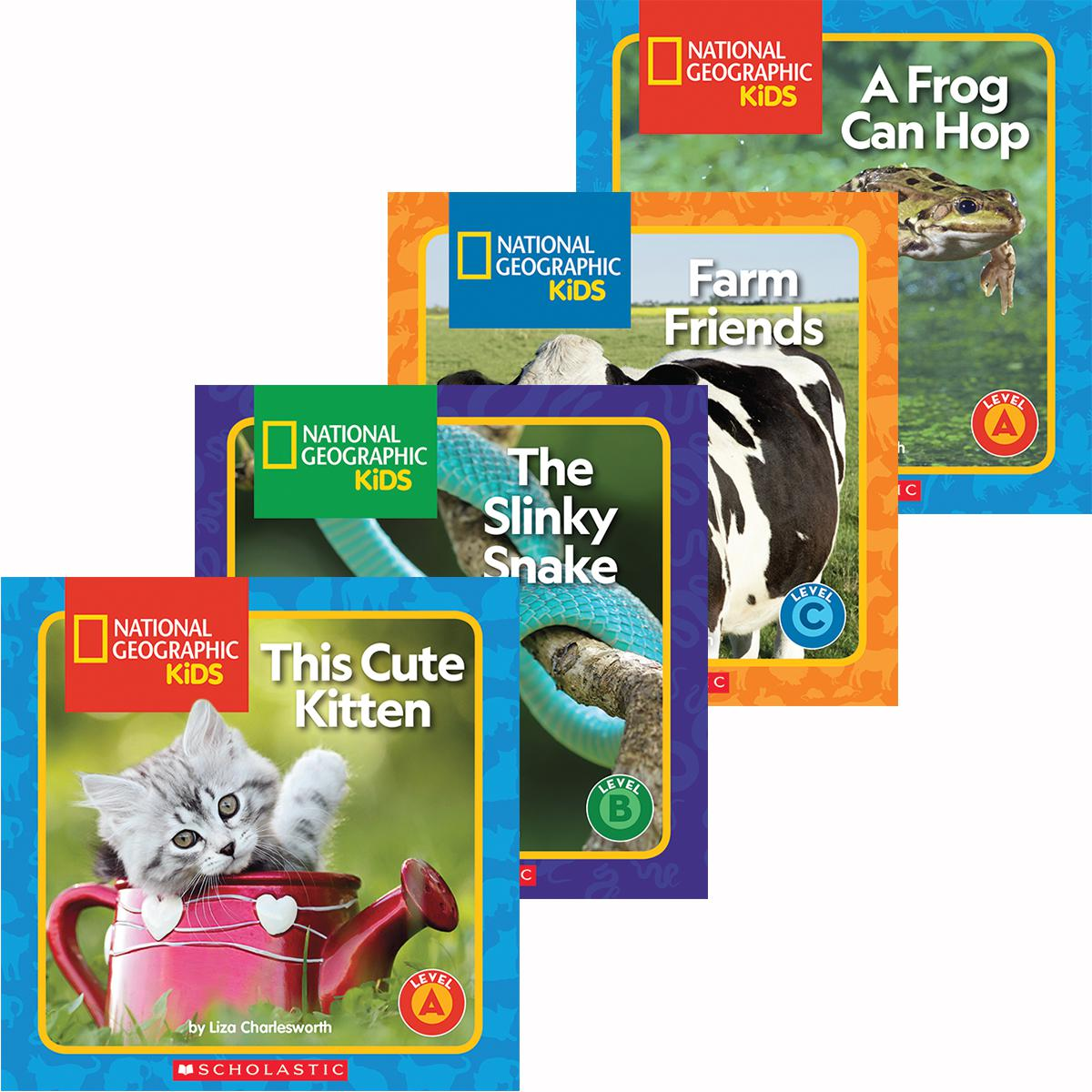 National Geographic Kids: Guided Reader Pack (A-D)
