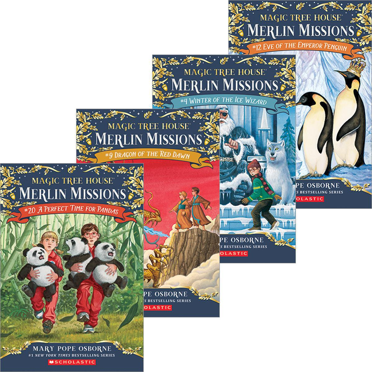 Magic Tree House® Merlin Missions #1-#27 Pack