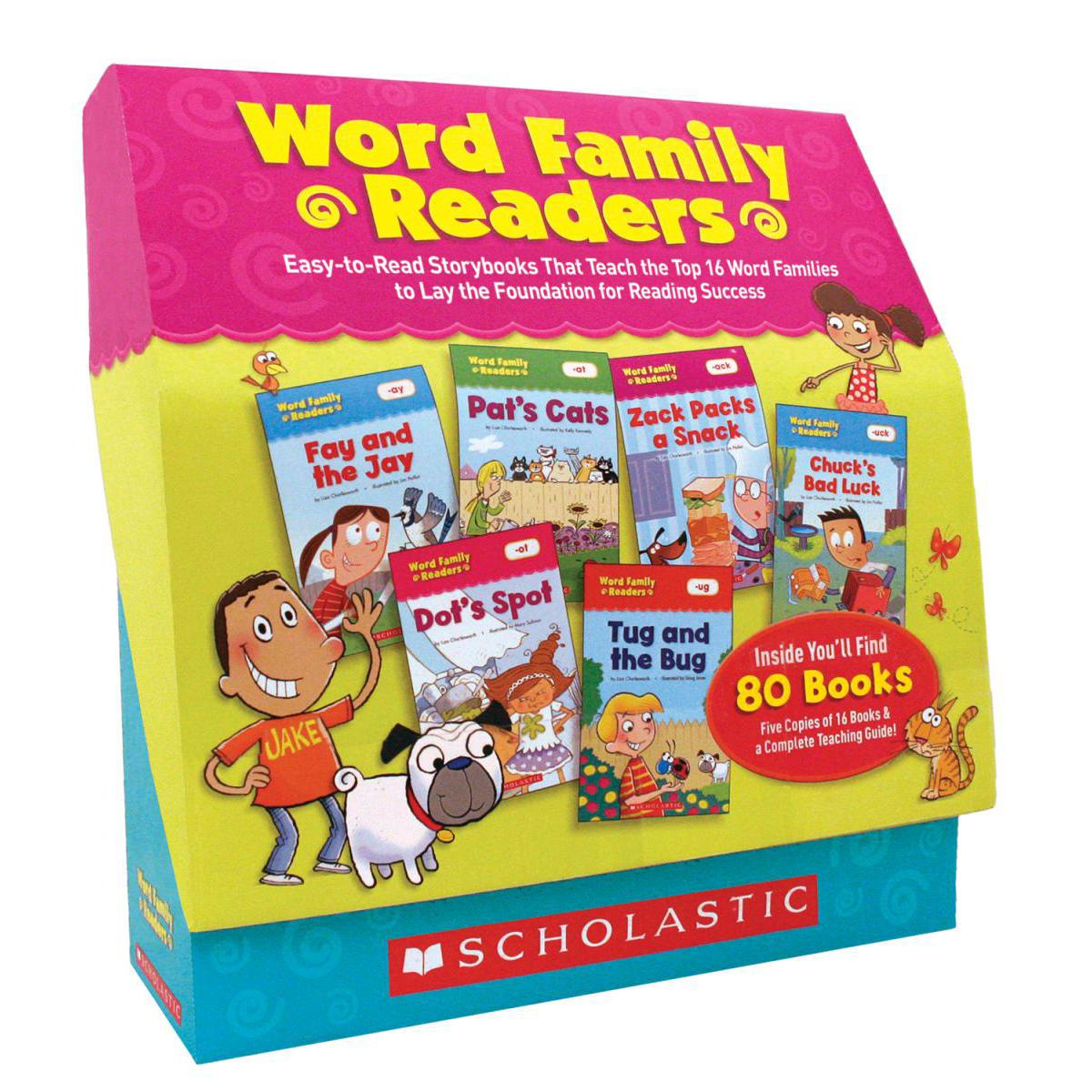 Word Family Readers Box Set
