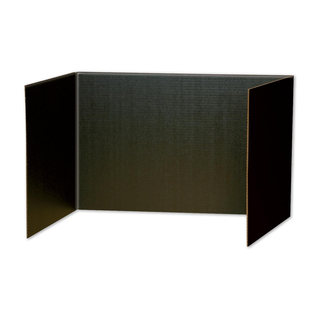 Privacy Boards 4-Pack (Black)