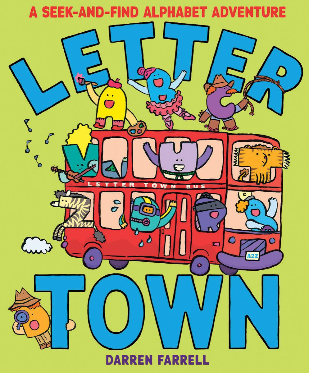 Letter Town: A Seek-and-Find Alphabet Adventure