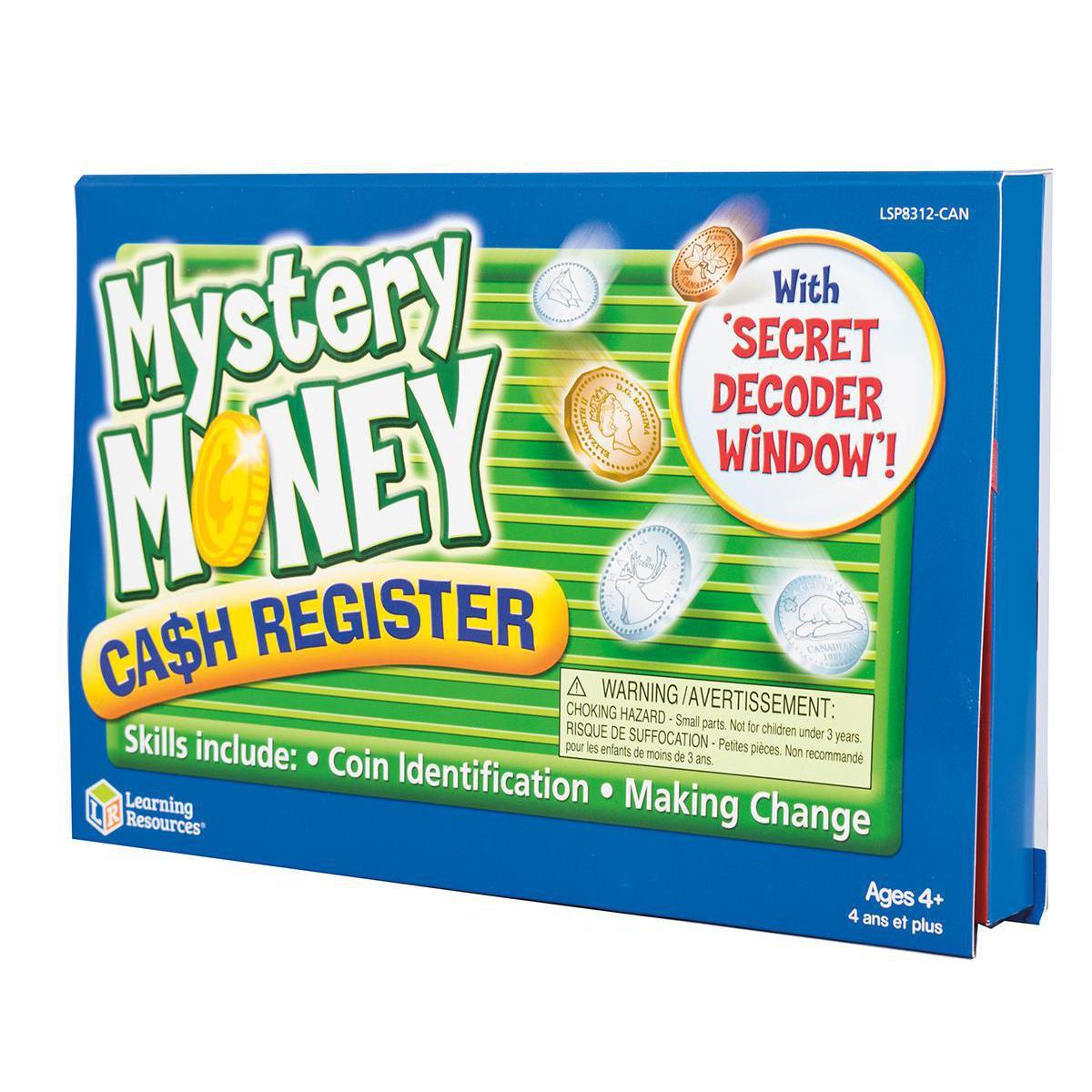 Canadian Mystery Money Cash Register