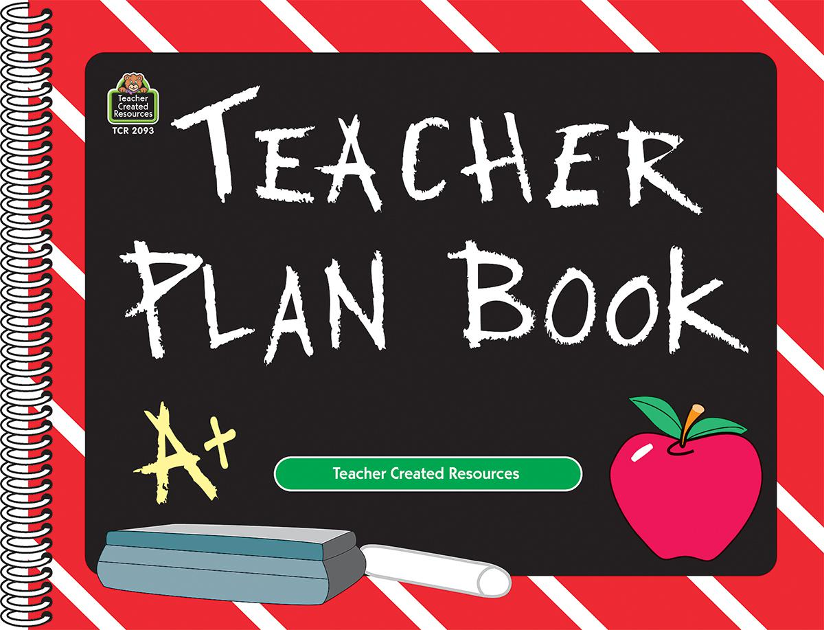 Chalkboard Teacher Books Plan Book