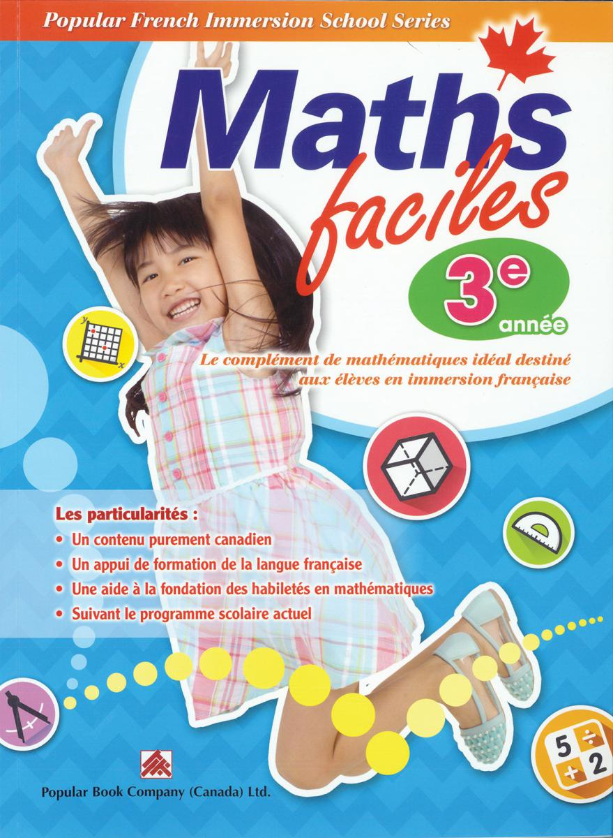 Maths faciles for French Immersion - Grade 3
