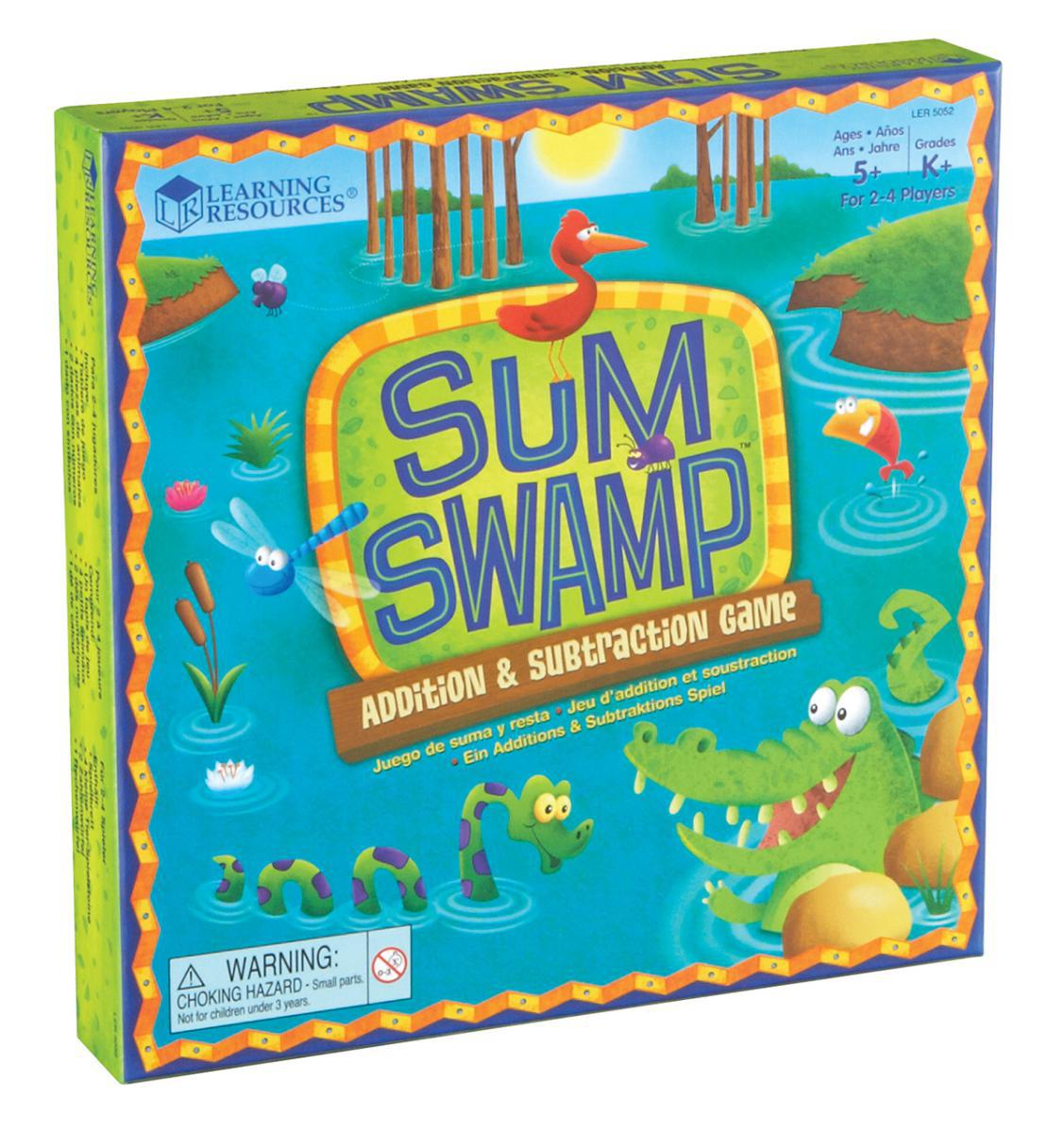 Sum Swamp: Addition & Subtraction Game