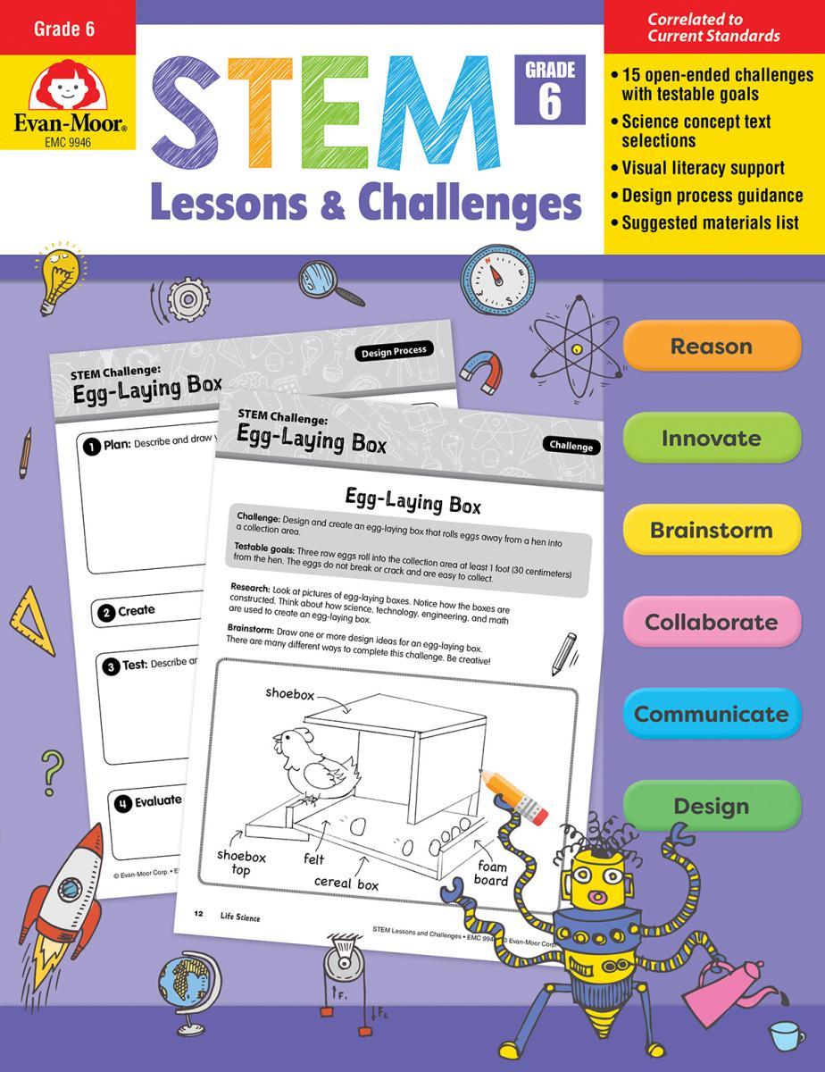 STEM Lessons & Challenges: Gr. 6