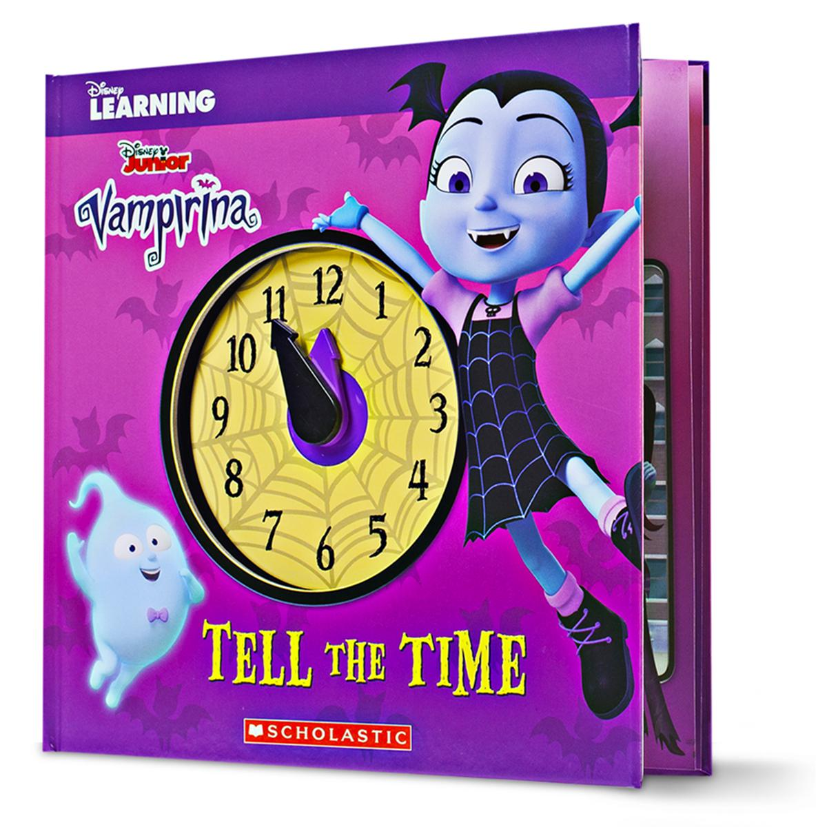 Disney Learning: Vampirina Tell the Time