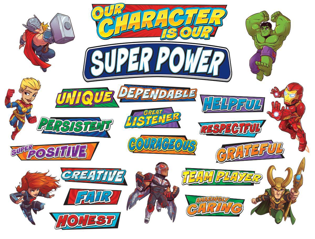 Marvel™ Our Character Mini Bulletin Board Set