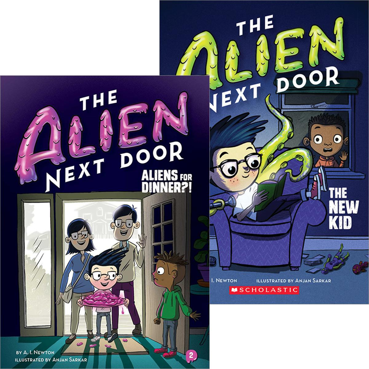 The Alien Next Door #1-#2 Pack