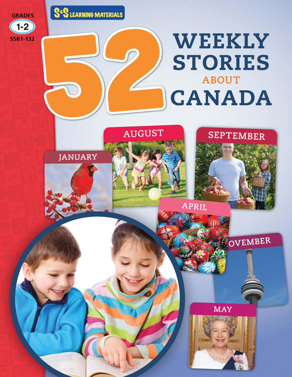 52 Weekly Stories About Canada: Gr. 1-2
