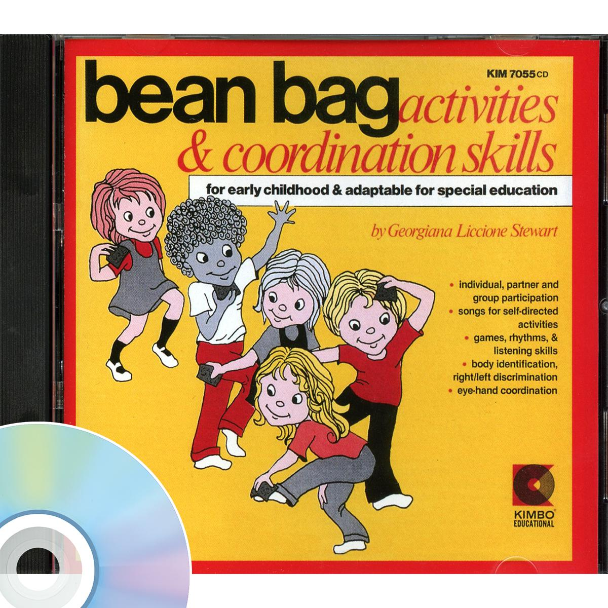 Bean Bag Activities & Coordination Skills CD