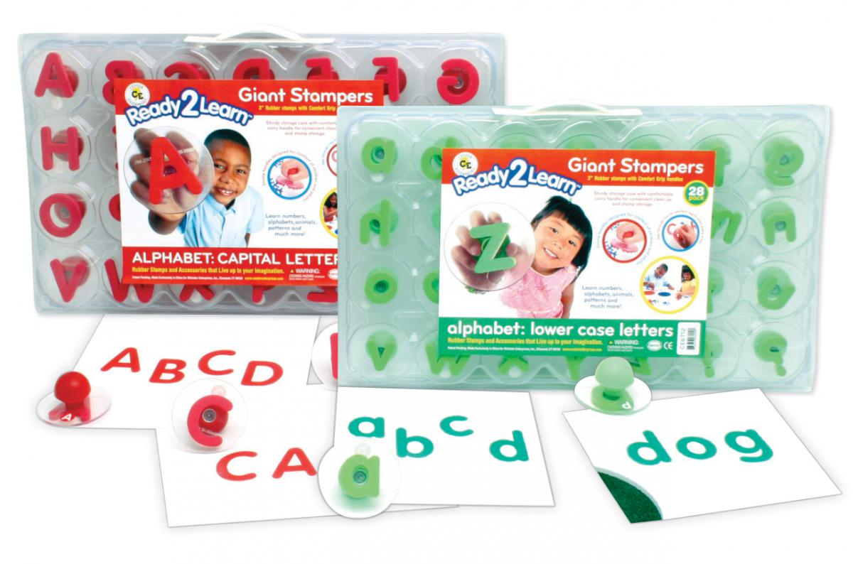 Ready 2 Learn Giant Alphabet Stampers Set