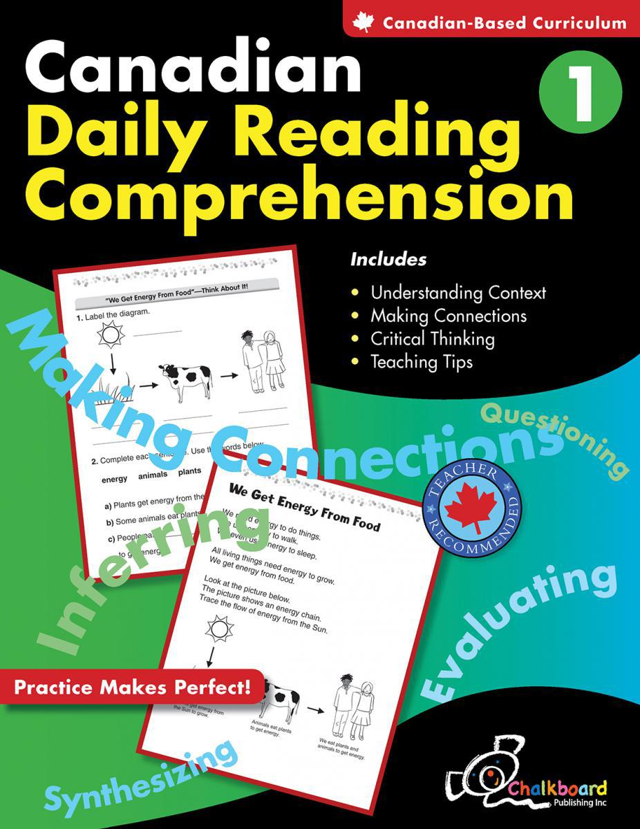 Canadian Daily Reading Comprehension Gr. 1