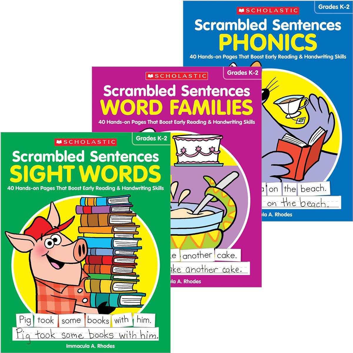 Scrambled Sentences Pack