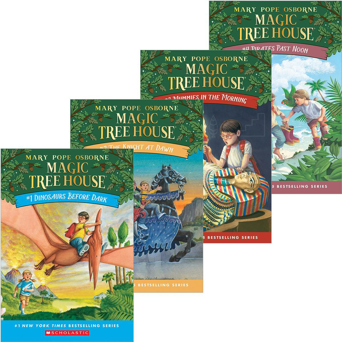 Magic Tree House® #1-#8 Pack