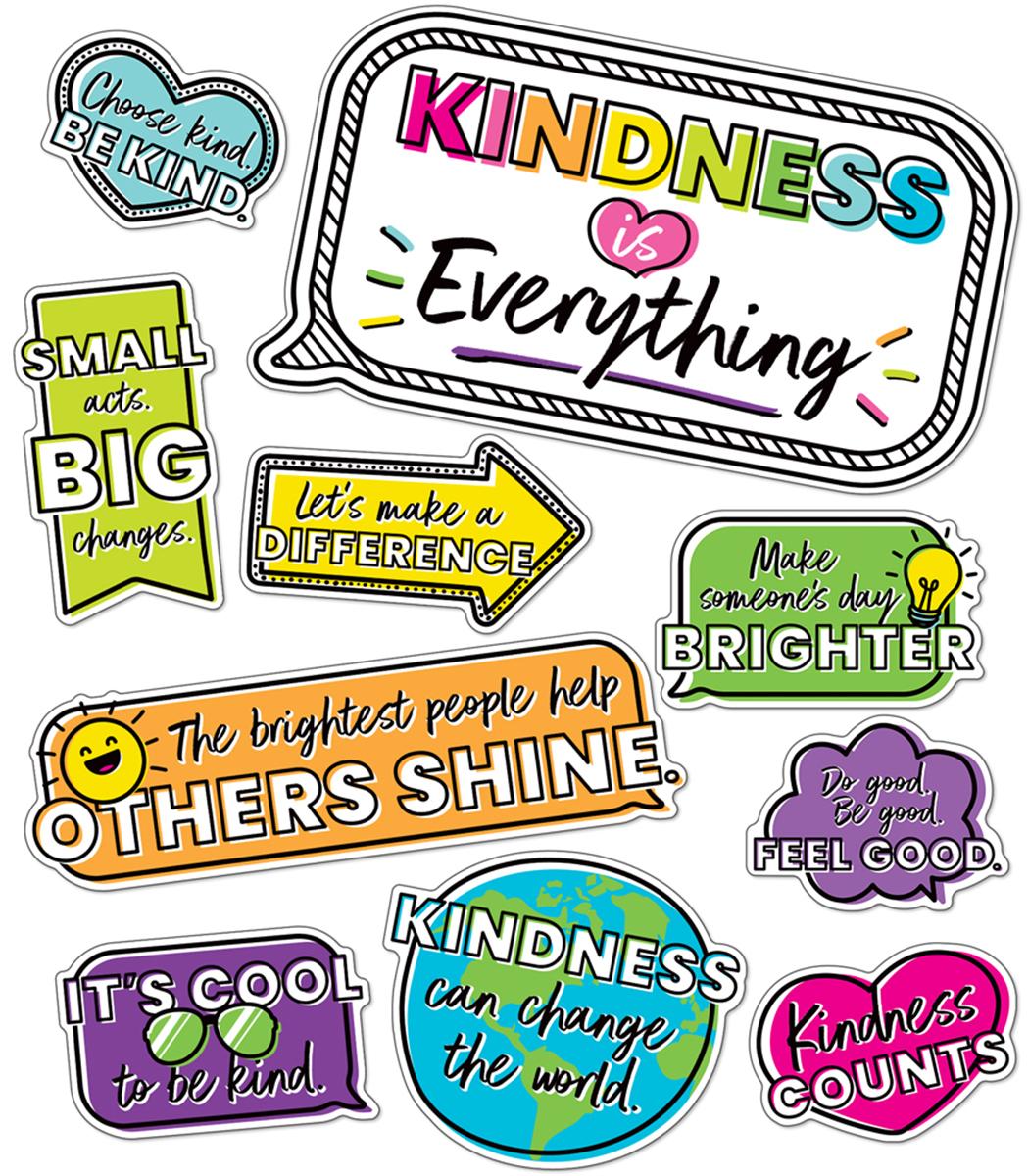 Kind Vibes Motivational Mini Bulletin Board Set