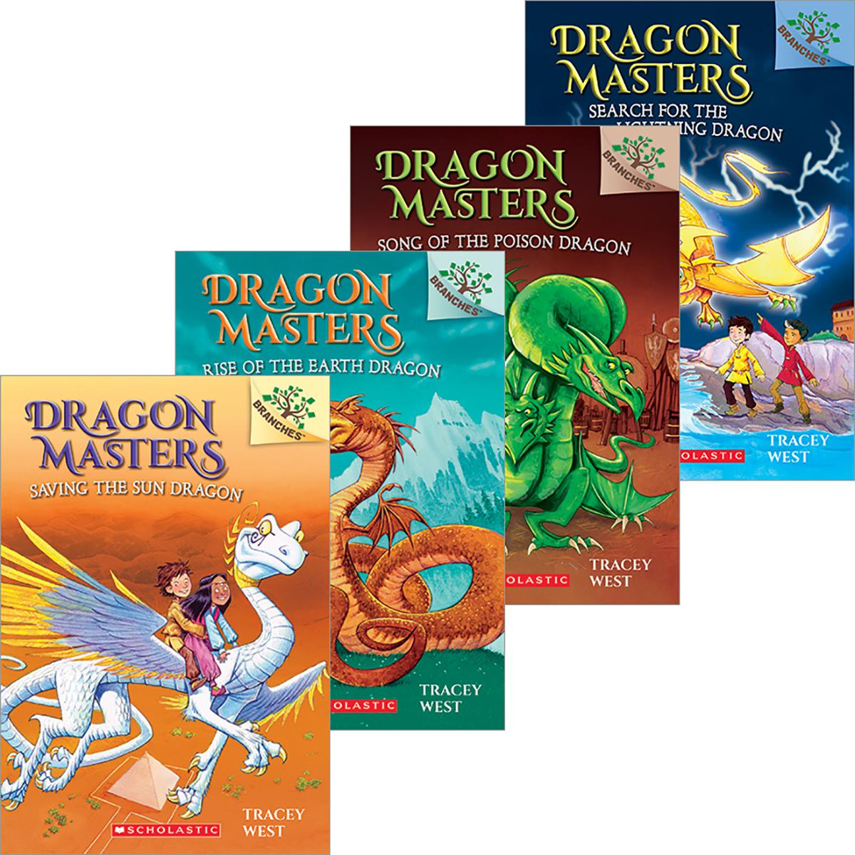 Dragon Masters #1-#8 Pack