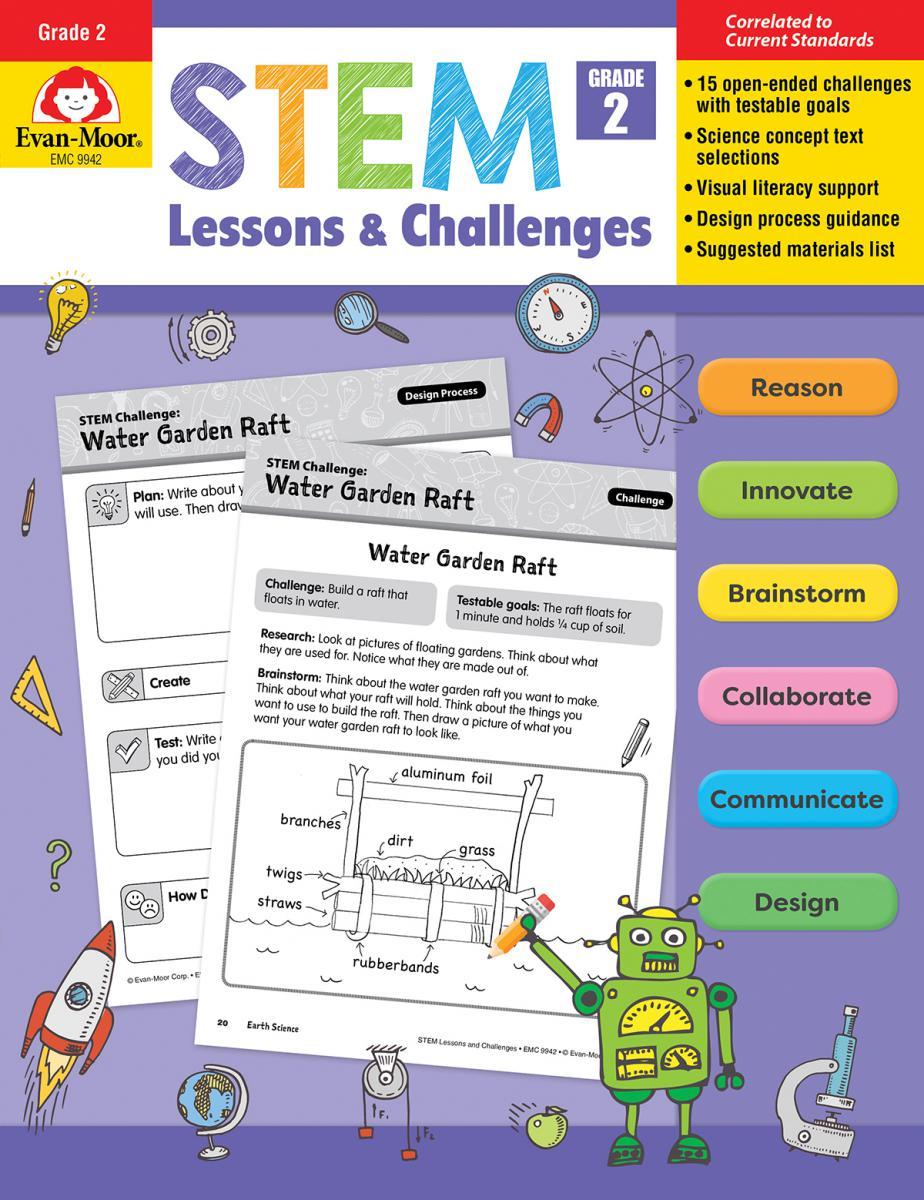 STEM Lessons & Challenges: Gr. 2