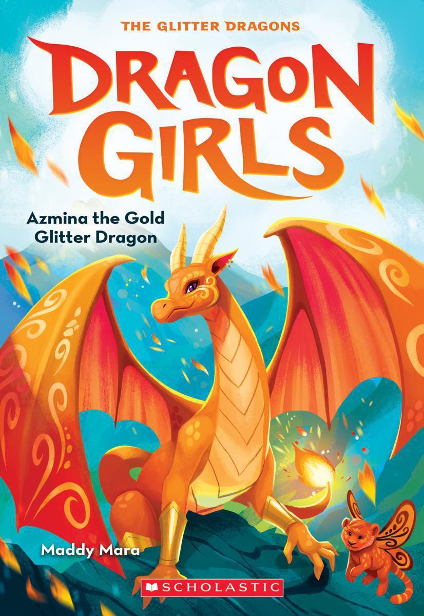Dragon Girls #1: Azmina the Gold Glitter Dragon