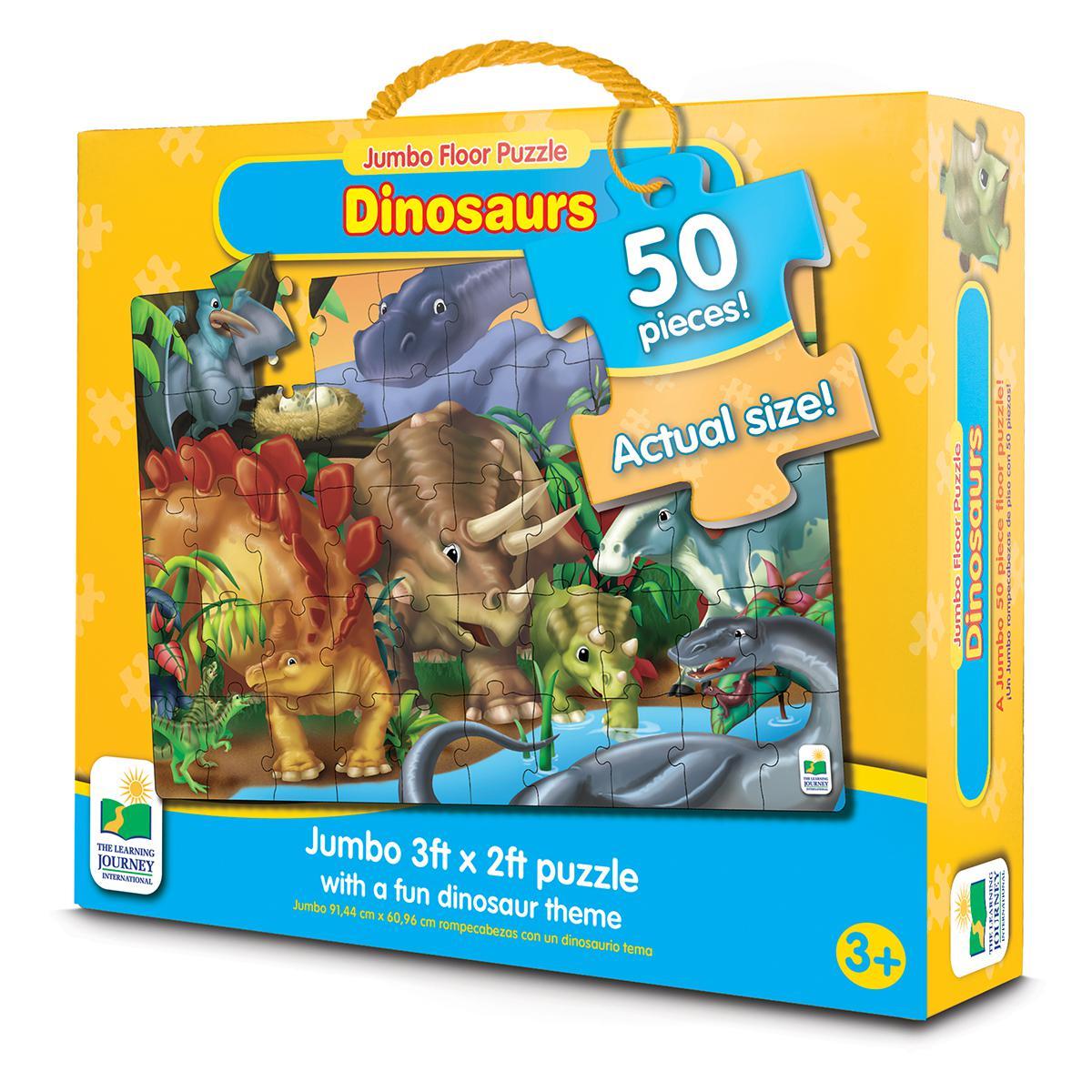 Jumbo Floor Puzzle Dinosaurs