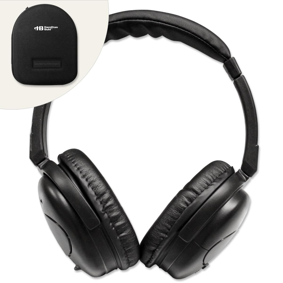 Hamilton® Deluxe Active Noise-Cancelling Headphones