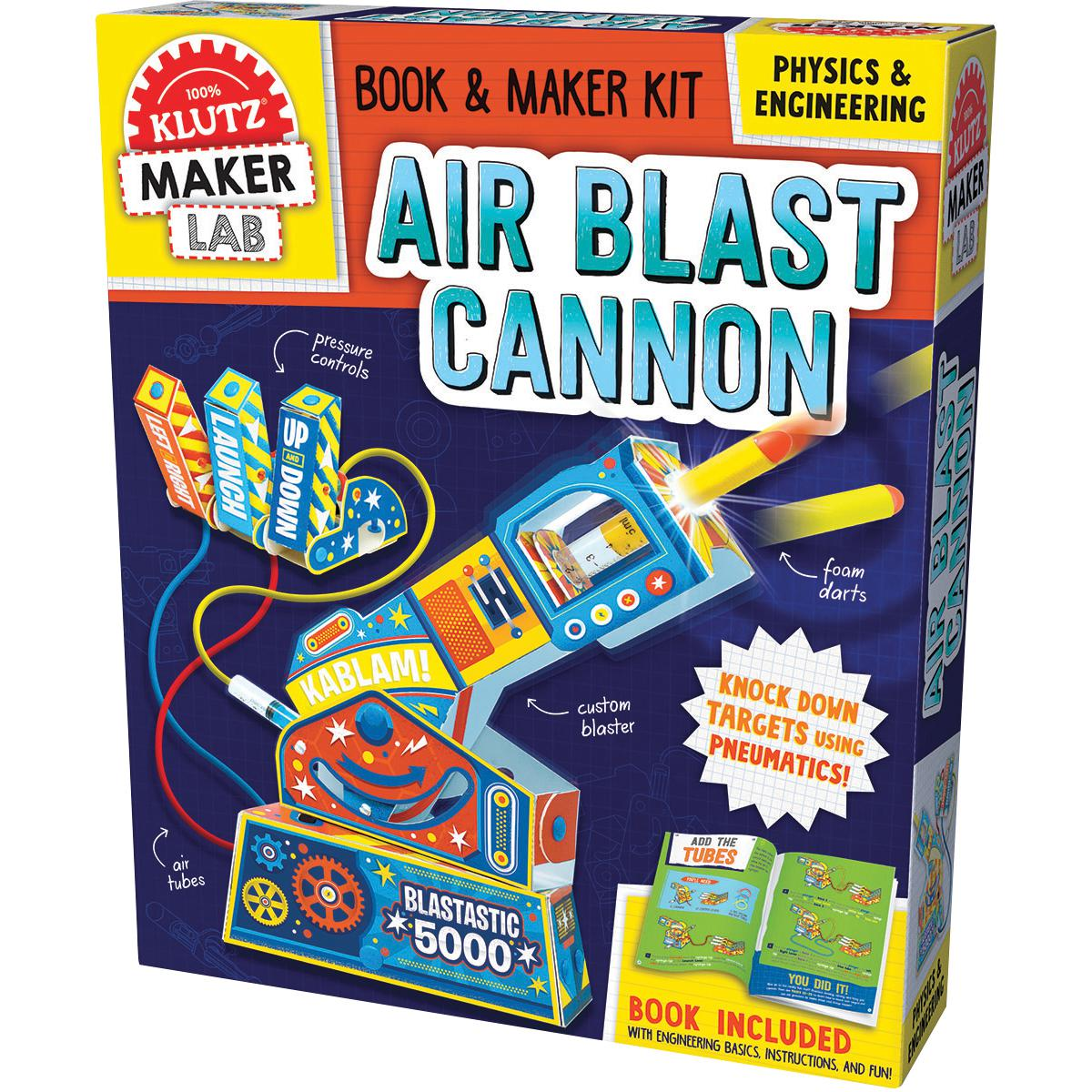 Klutz Maker Lab: Air Blast Cannon