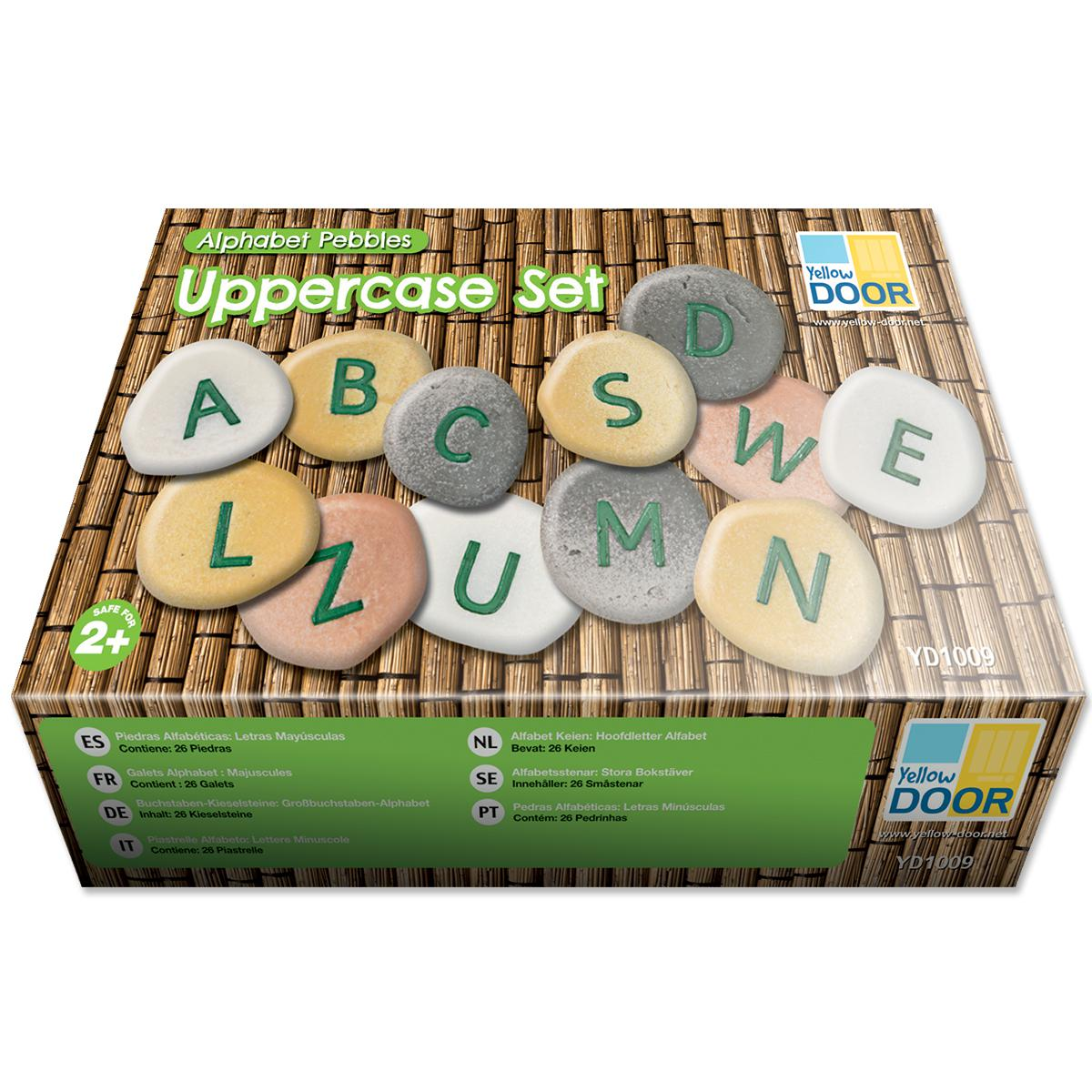 Alphabet Pebbles Uppercase
