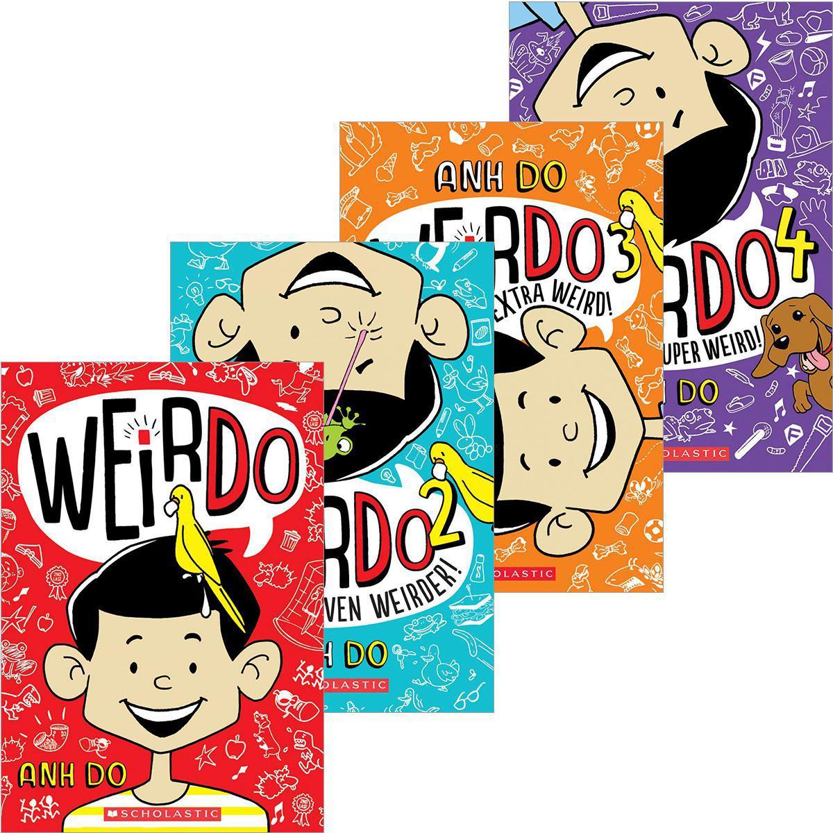 WeirDo #1-#4 Pack