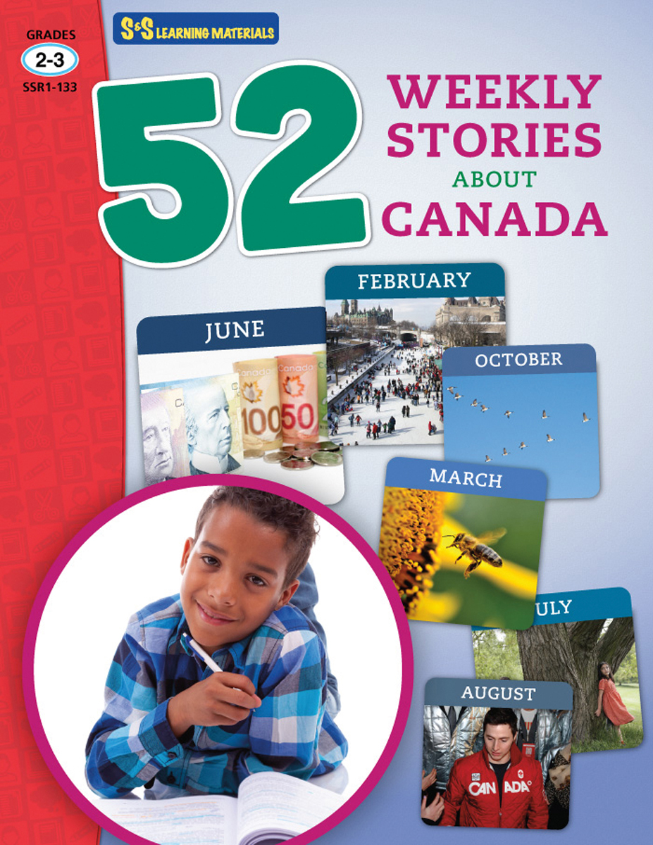 52 Weekly Stories About Canada: Gr. 2-3