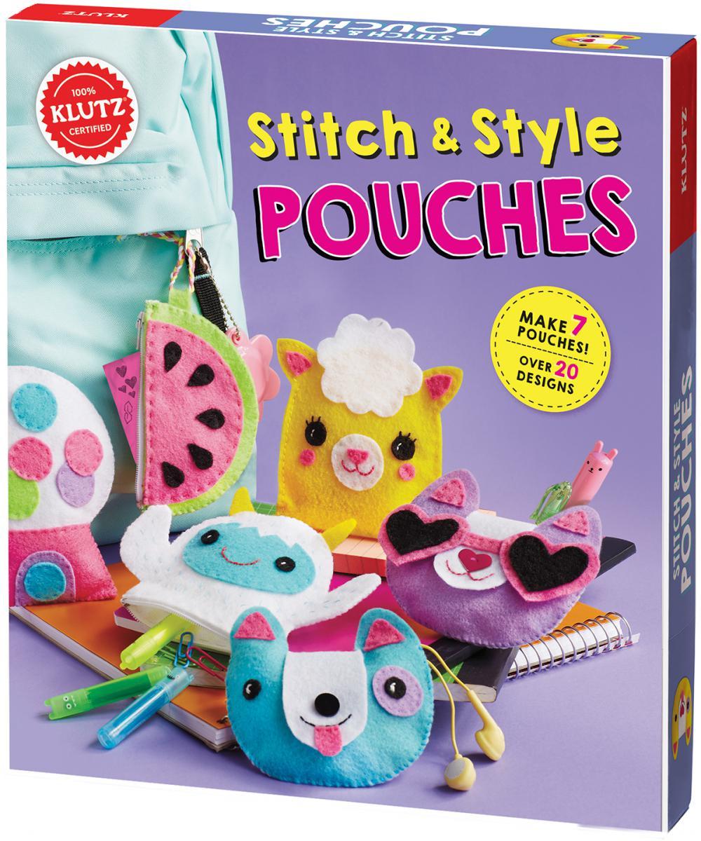 Klutz® Stitch & Style Pouches