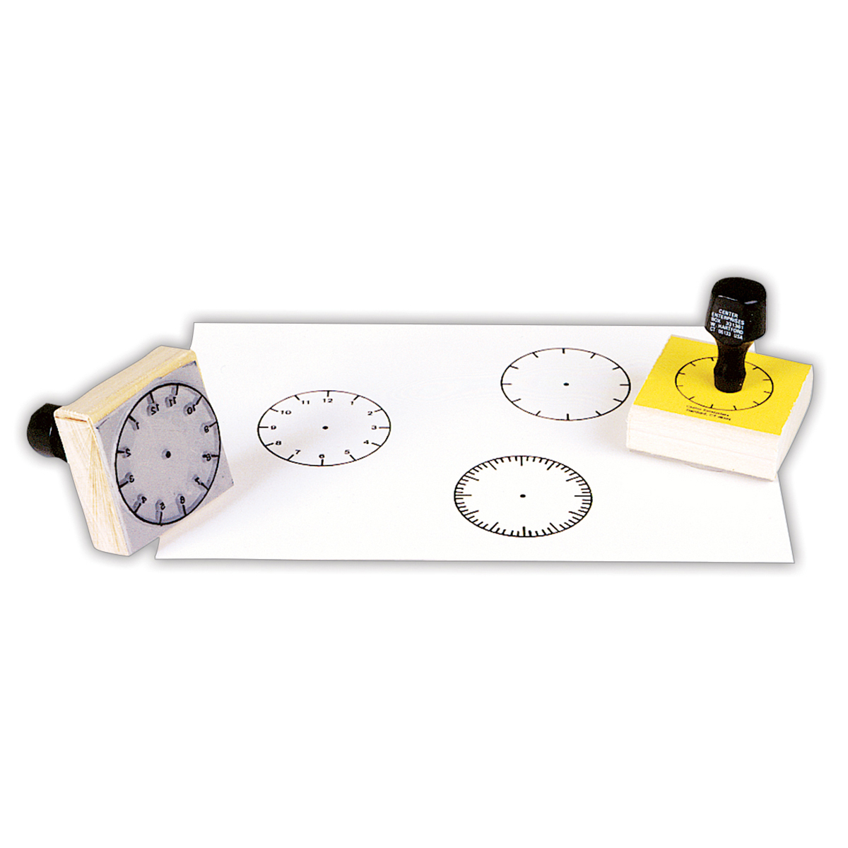 3-Clock Stamp Set