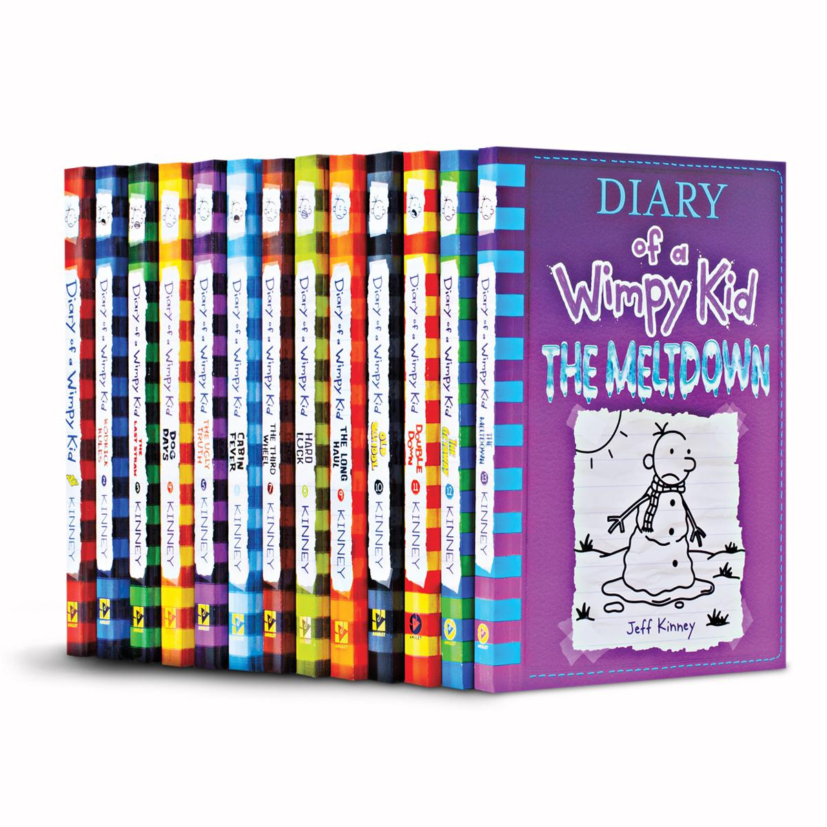 Diary of a Wimpy Kid #1-#14 Pack
