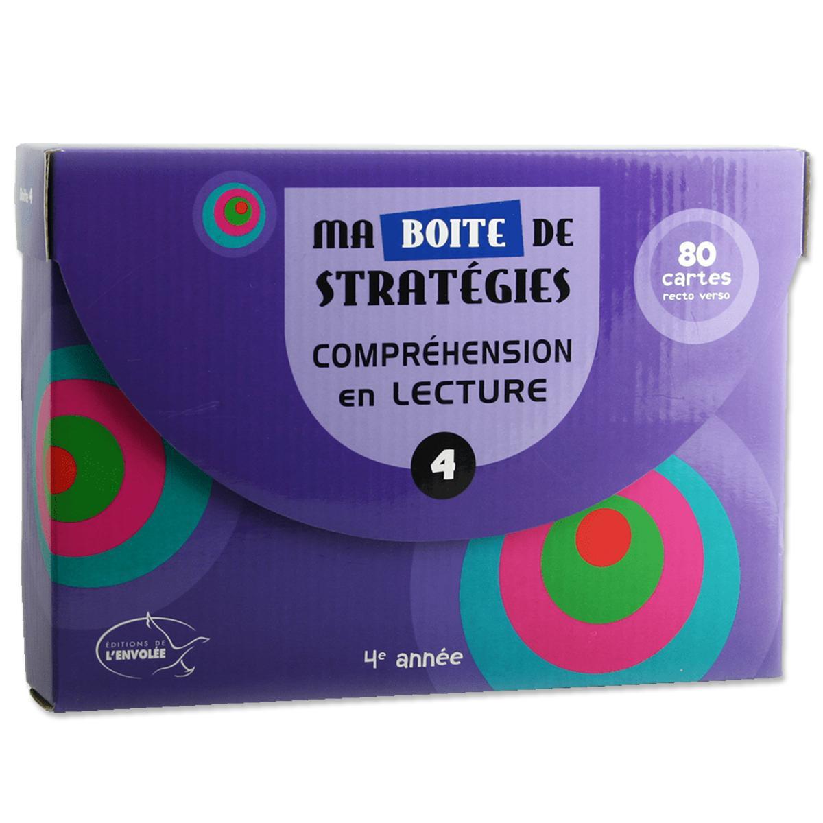 Ma boîte de stratégies : Compréhension en lecture 4