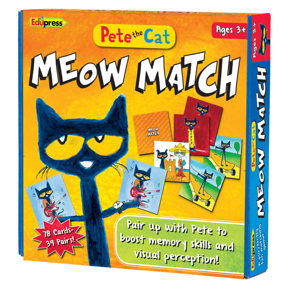 Pete the Cat© Meow Match Game