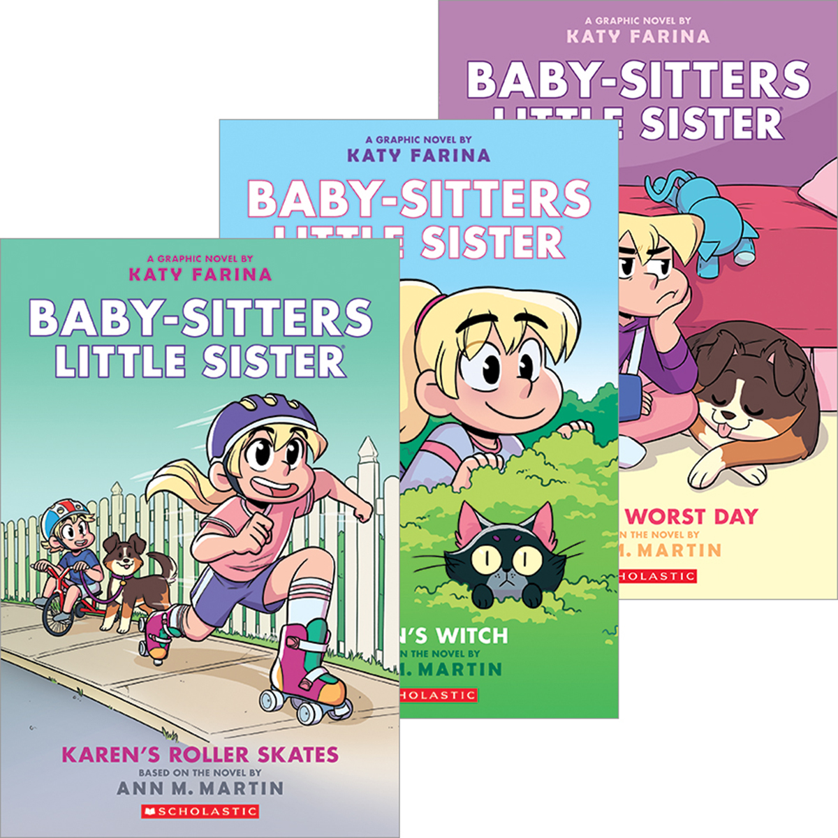 Baby-Sitters Little Sister® Graphix #1-#3 Pack