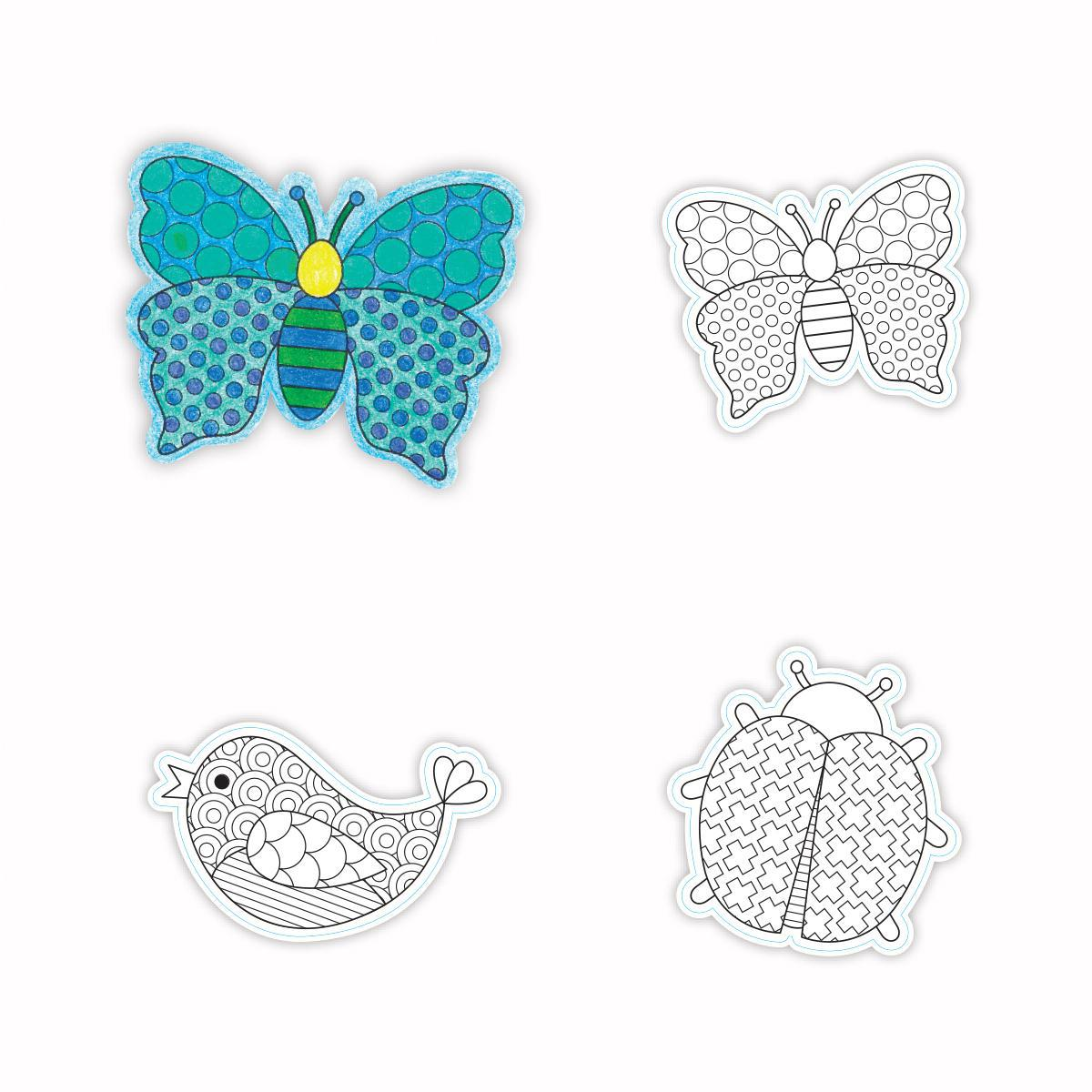 Spring Colouring Cut-Outs