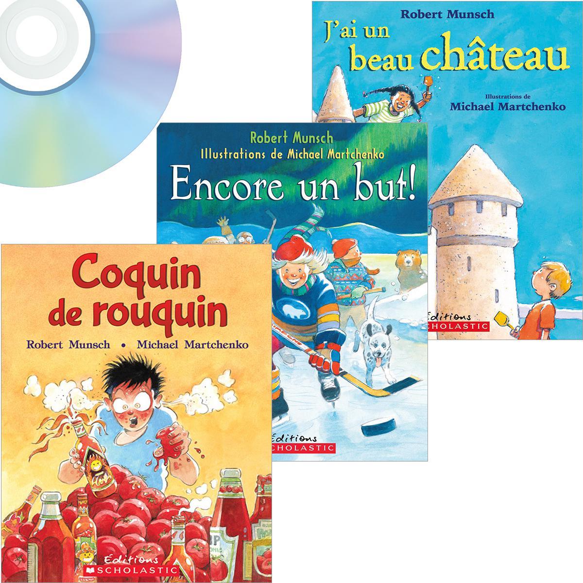 Ensemble Munsch Livres-CD